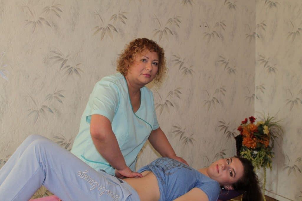 Нелли охримовская массаж