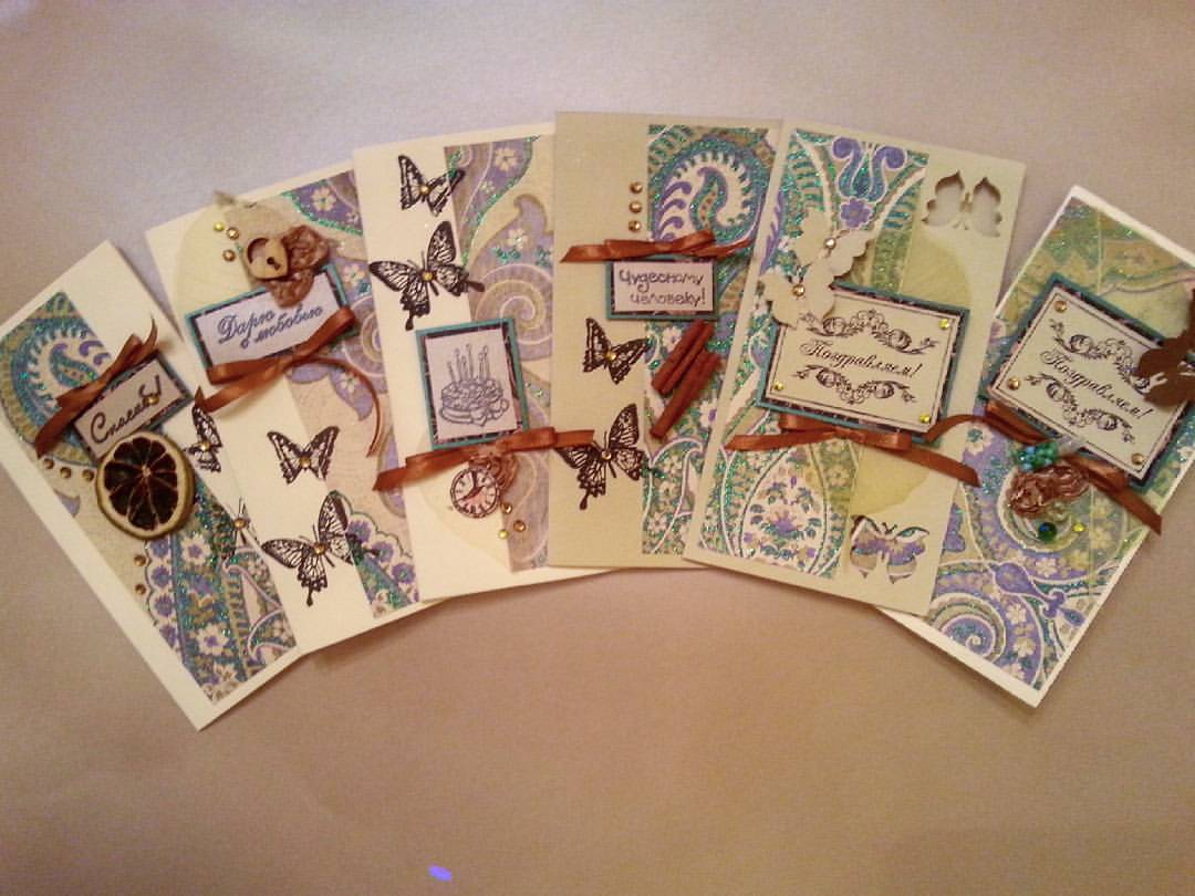 открытки ручной работы картинки